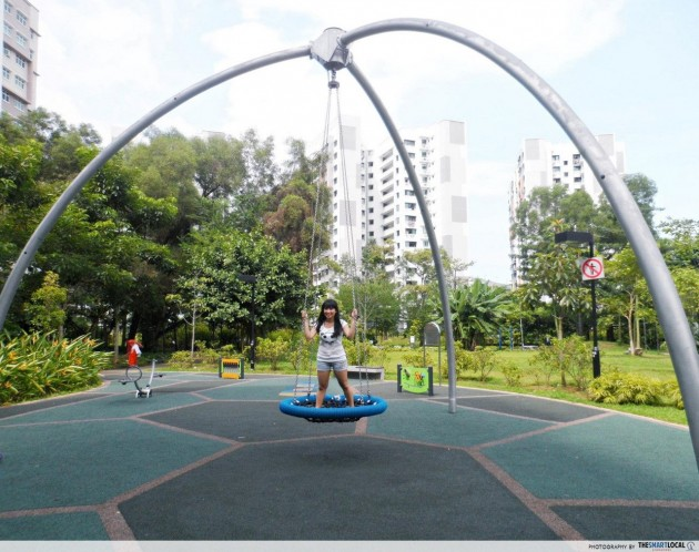 Quirky pendulum swing Yishun