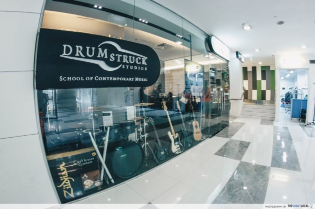 PoMo classes drums Drumstruck Studio
