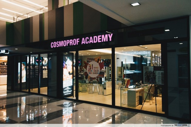 PoMo classes make-up Cosmoprof Academy