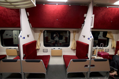 Sleeper Train - Second Class Cabin