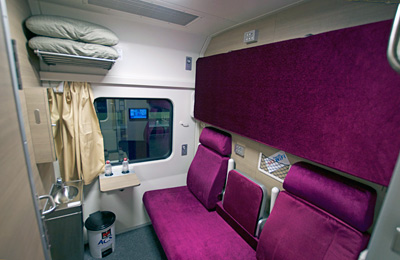 Sleeper Train - Chiang Mai Cabin