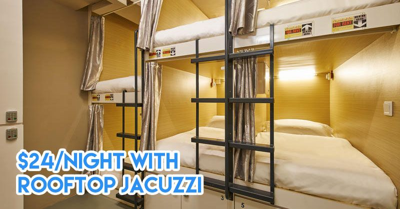 Affordable capsule hotels in Singapore