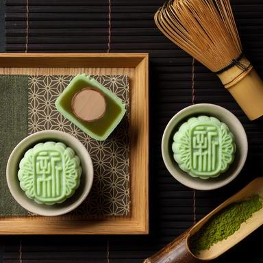 holiday inn singapore atrium green tea mooncake