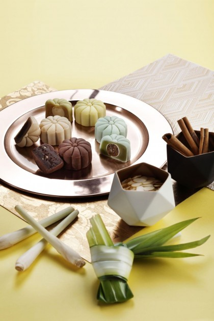 JW Marriott singapore mooncakes