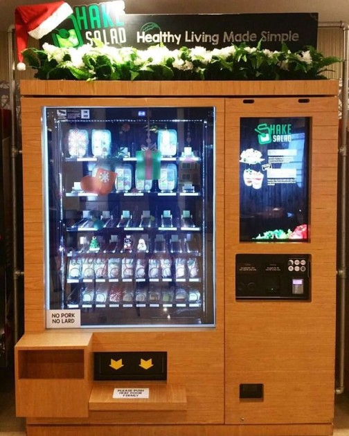 Salad vending machine singapore