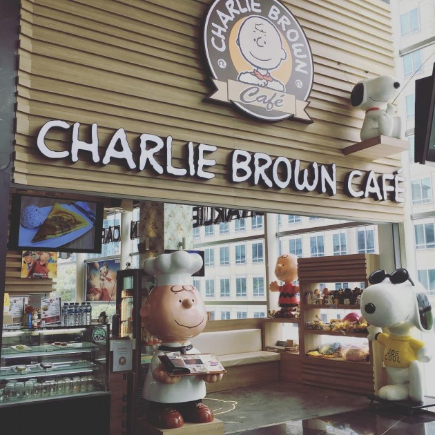Charlie Brown Cafe cheap lunch sets less than $10