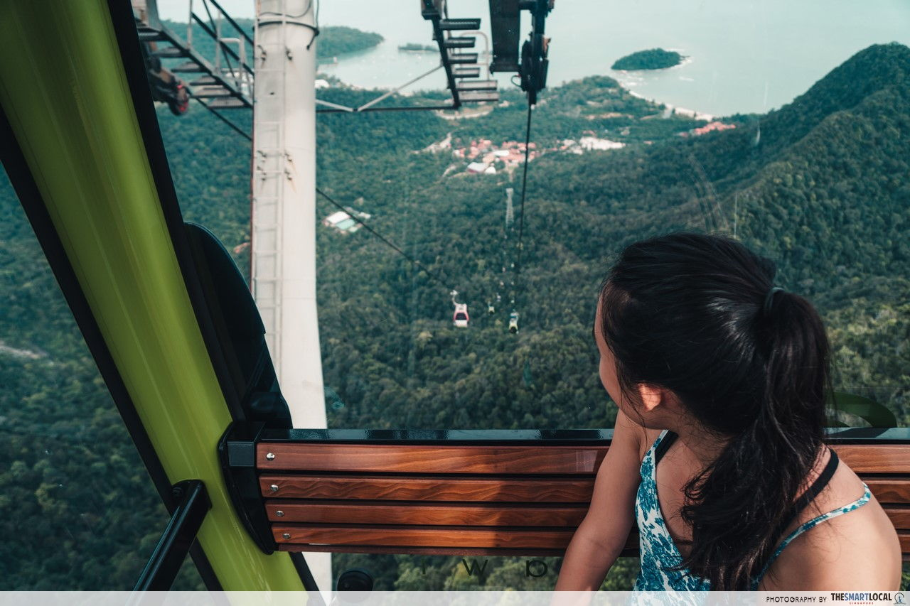 Asia's steepest cable car - SkyCab