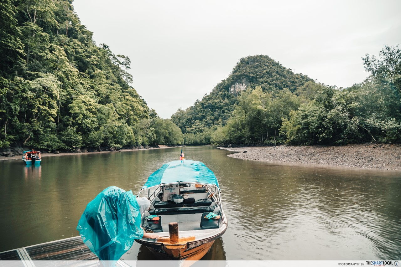 Explore Kilim Geoforest Park on a boat