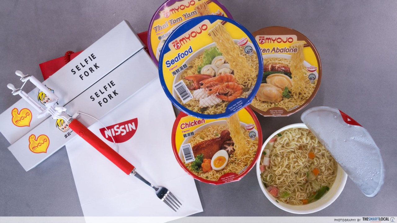 Nissin lucky draw grand prize giveaway
