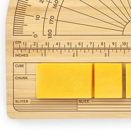 Cheese protractor to measure cheese when cutting it weird inventions singapore