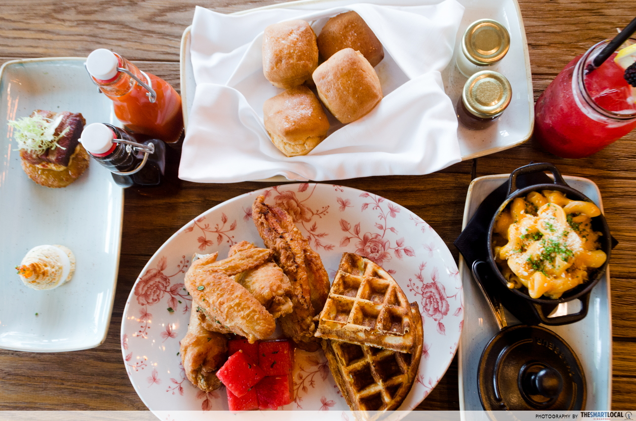The Bird Is MBS's Newest Restaurant With Chicken & Waffles And Half-Priced Cocktails