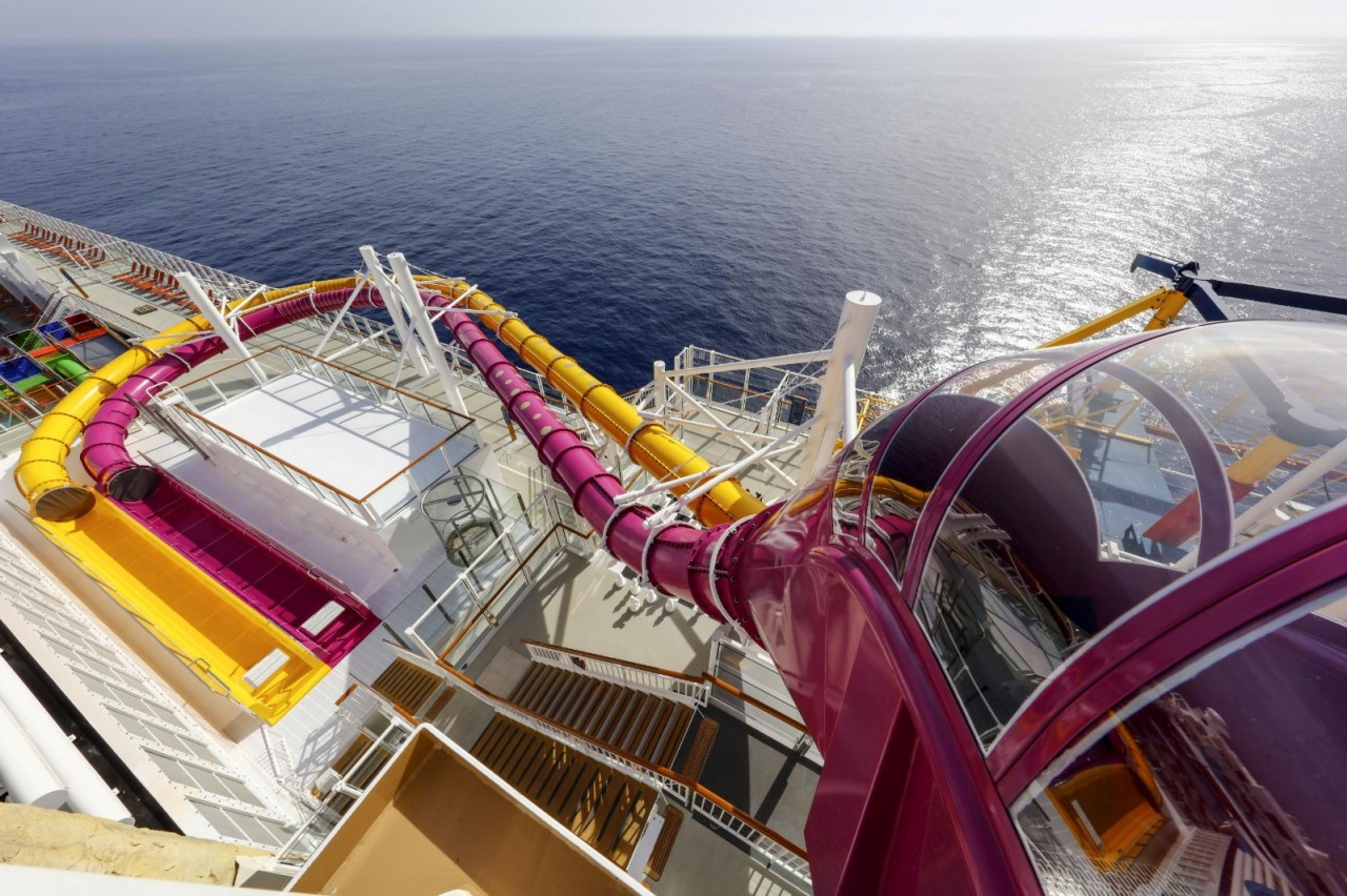 Genting Dream Cruise - Waterpark