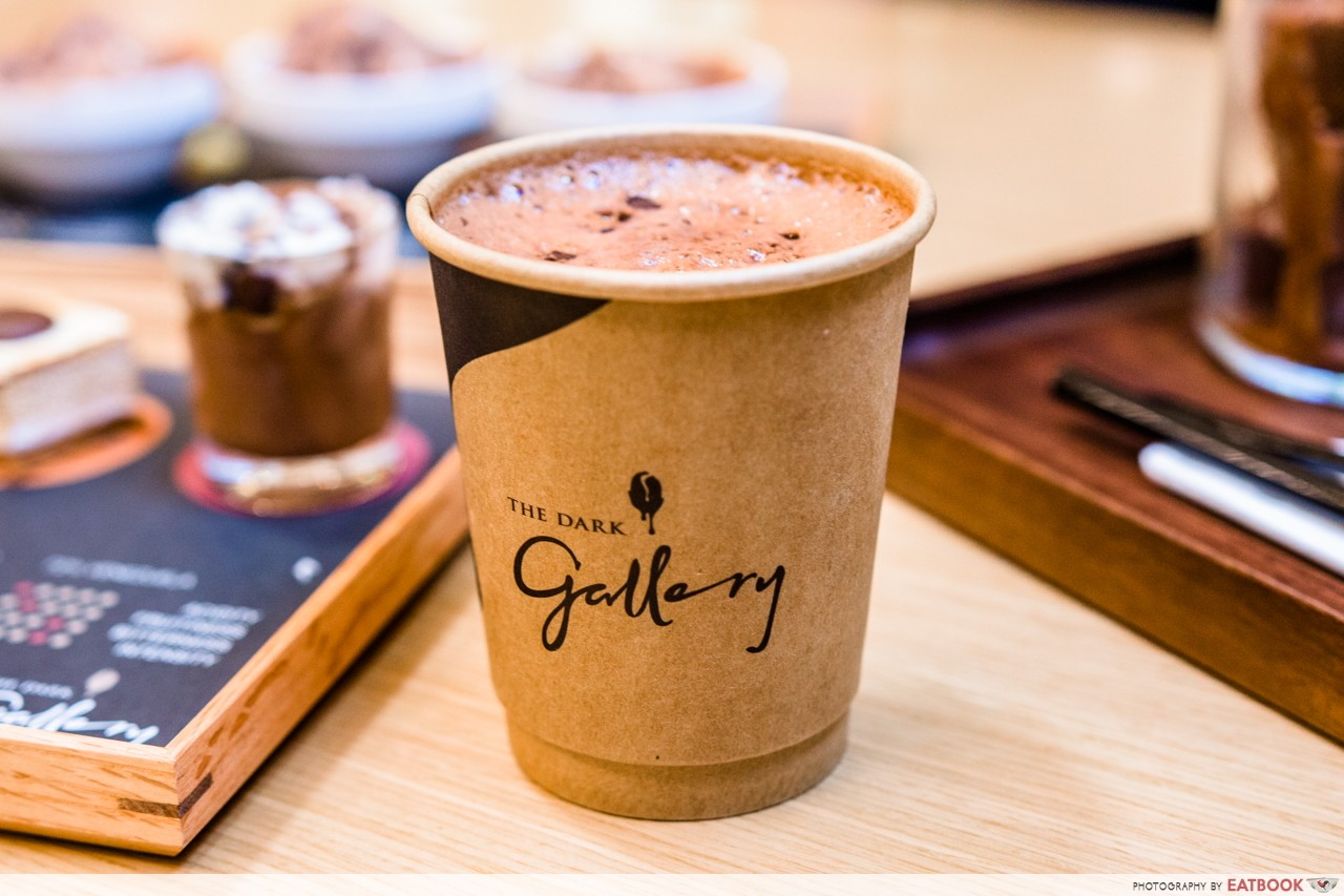 the dark gallery hot chocolate