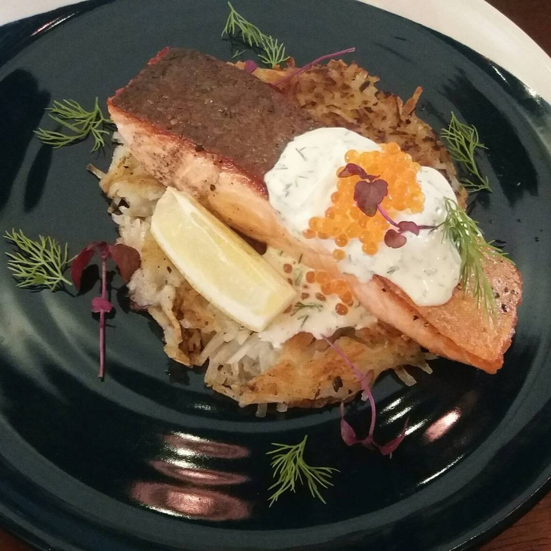 hustle co salmon rosti