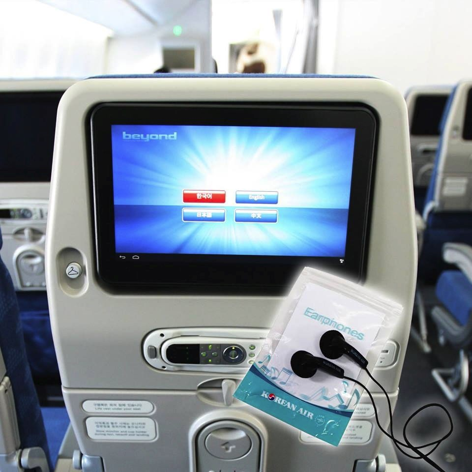 Korean Air's in-flight entertainment system