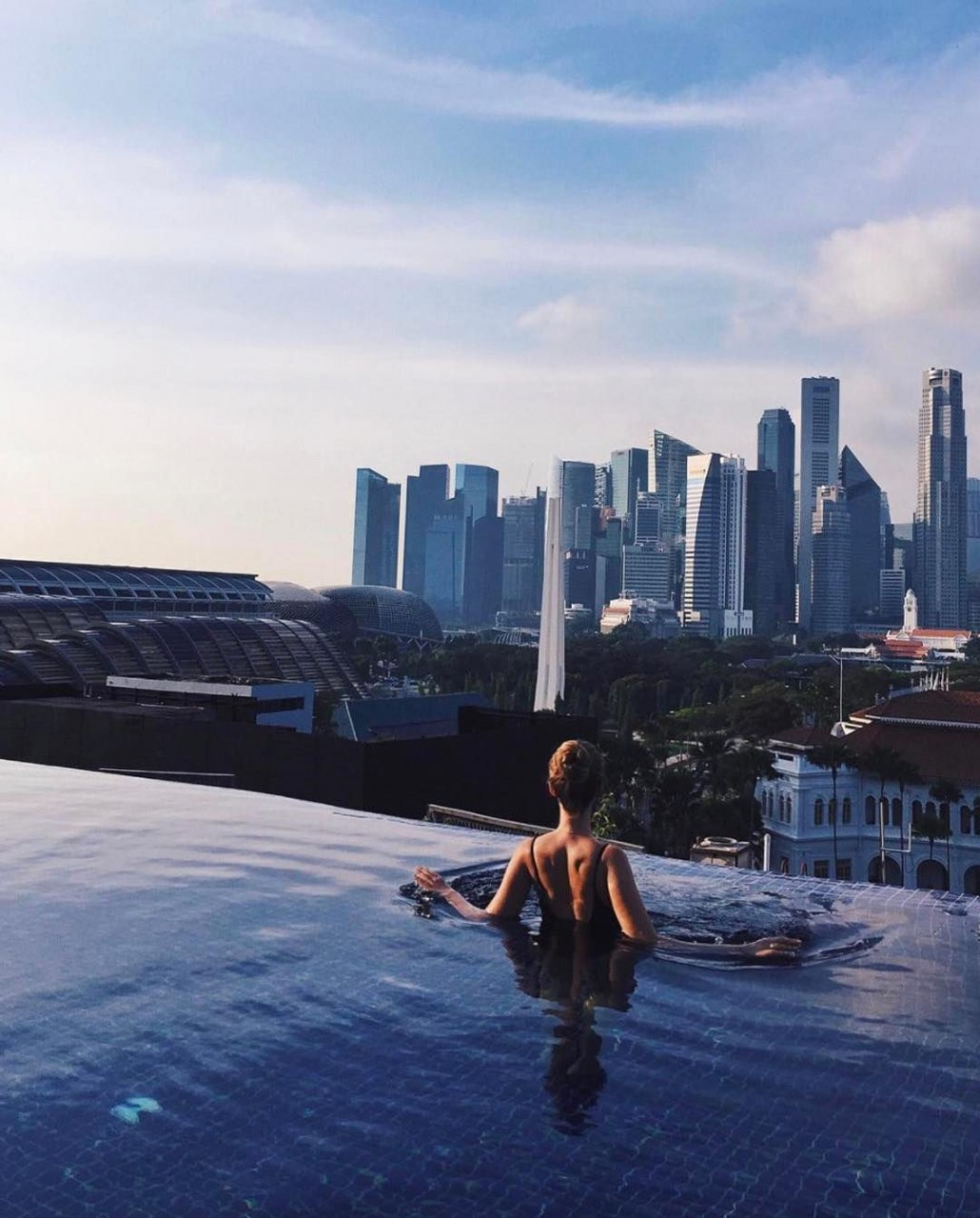 5 hotels in singapore with infinity pools to stay at for under 250 a night thesmartlocal. Black Bedroom Furniture Sets. Home Design Ideas