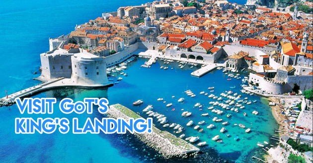 Croatia GOT king's landing filming site Guardian and watsons promotion