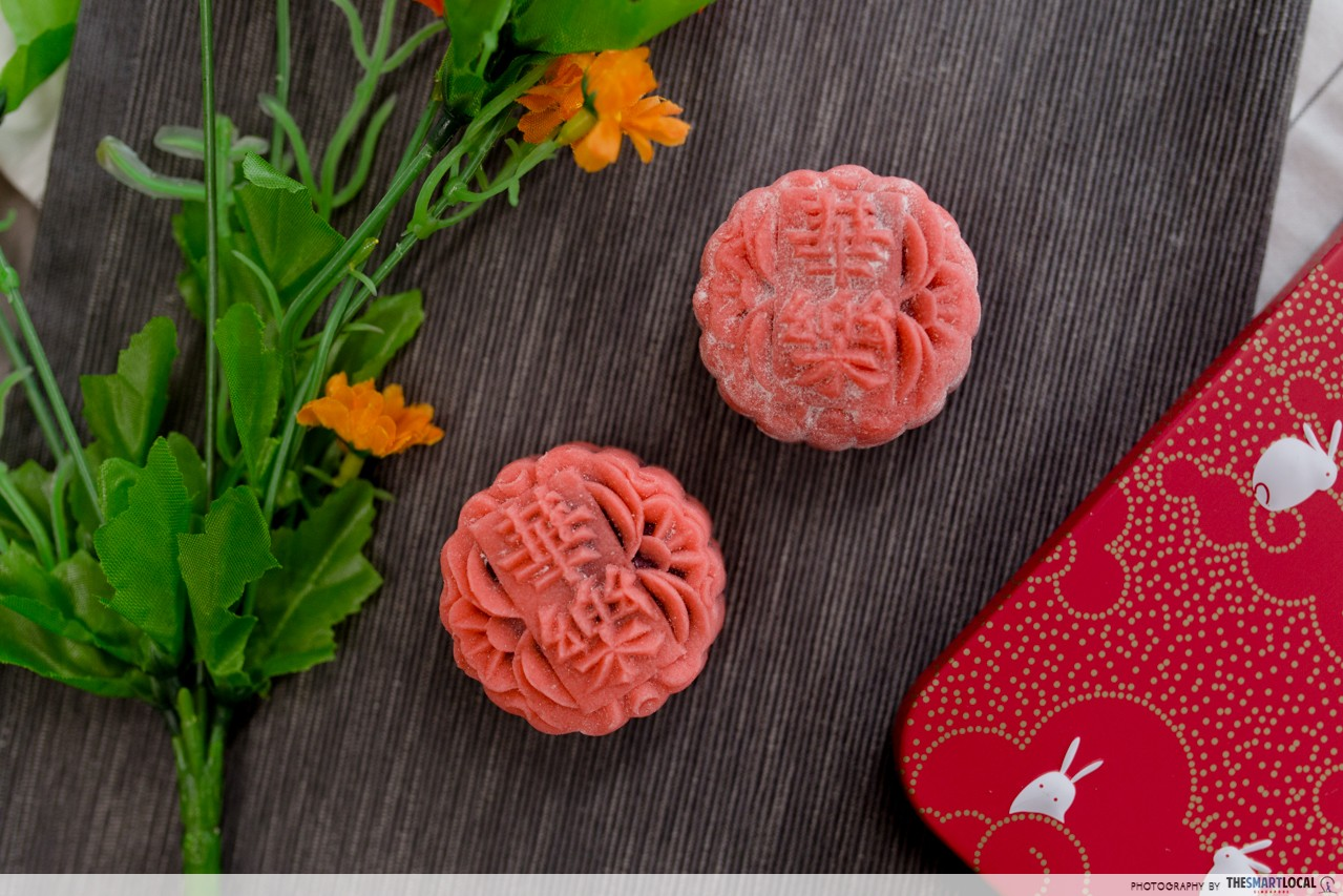 Carlton Hotel Mooncake Mini Red Velvet Snowskin