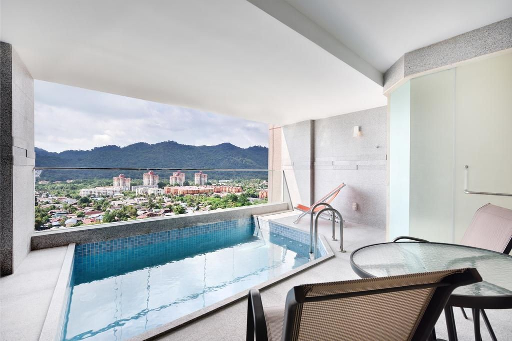 Lexis Suites Penang's Executive Pool Suite Balcony