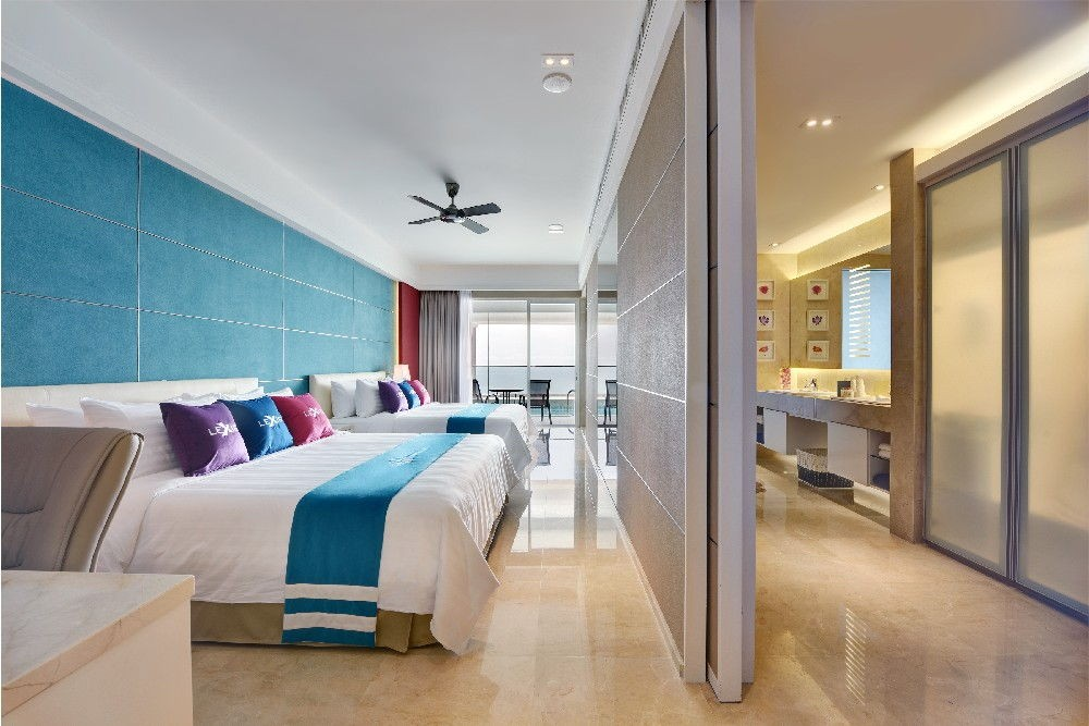 Lexis Suites Penang's Executive Pool Suite Bedroom