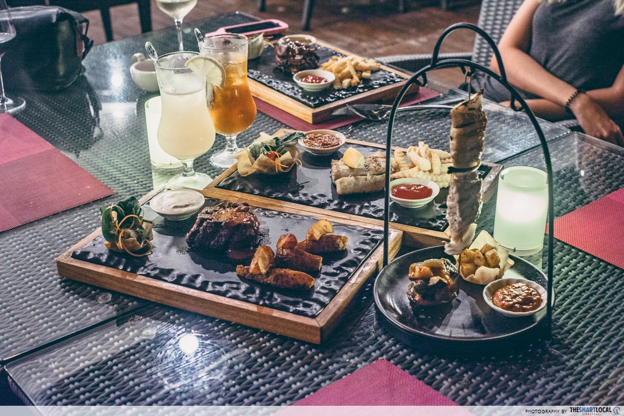 Cassia Bintan XANA Beach Club Food