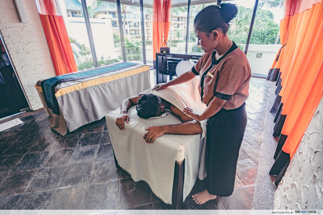 Cassia Bintan Hidden Spots Angsana Spa Massage