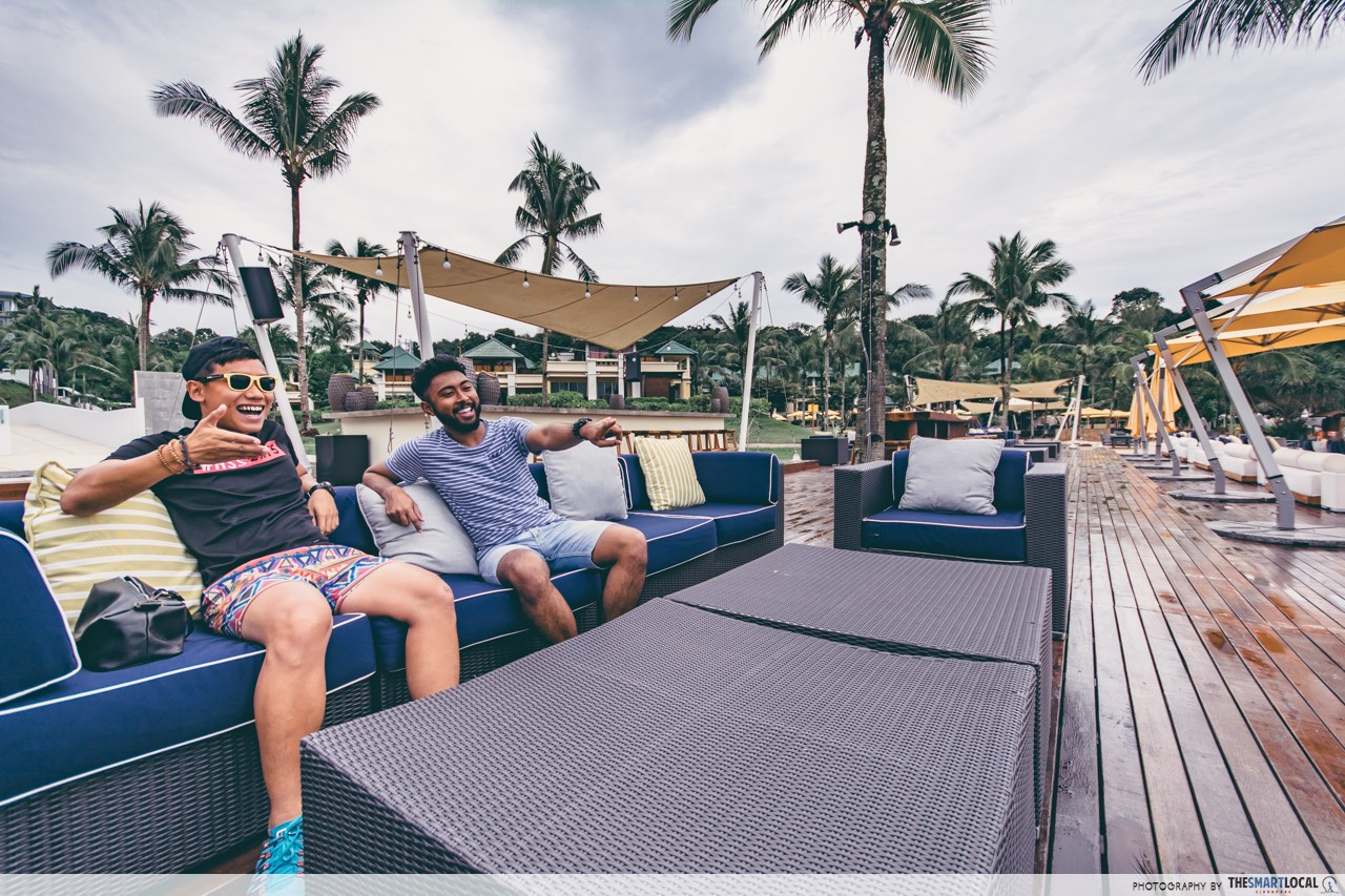 Cassia Bintan XANA Beach Club Deck