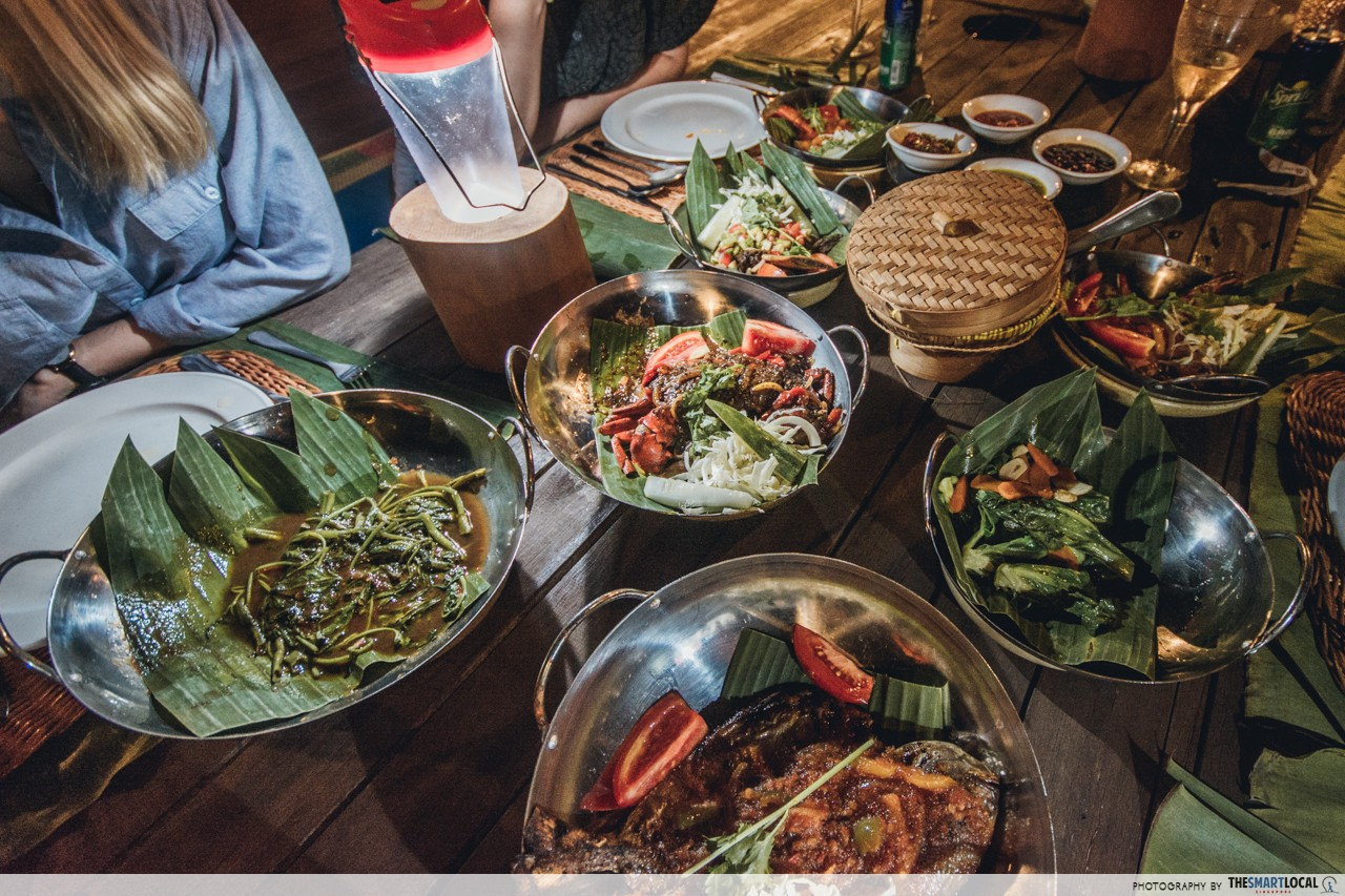 Cassia Bintan Destination Dining Kelong Dinner Food
