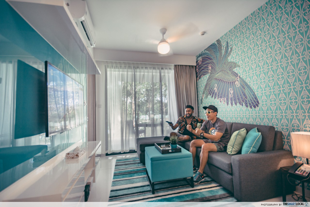 Cassia Bintan Room Accommodation Apartment Living Room