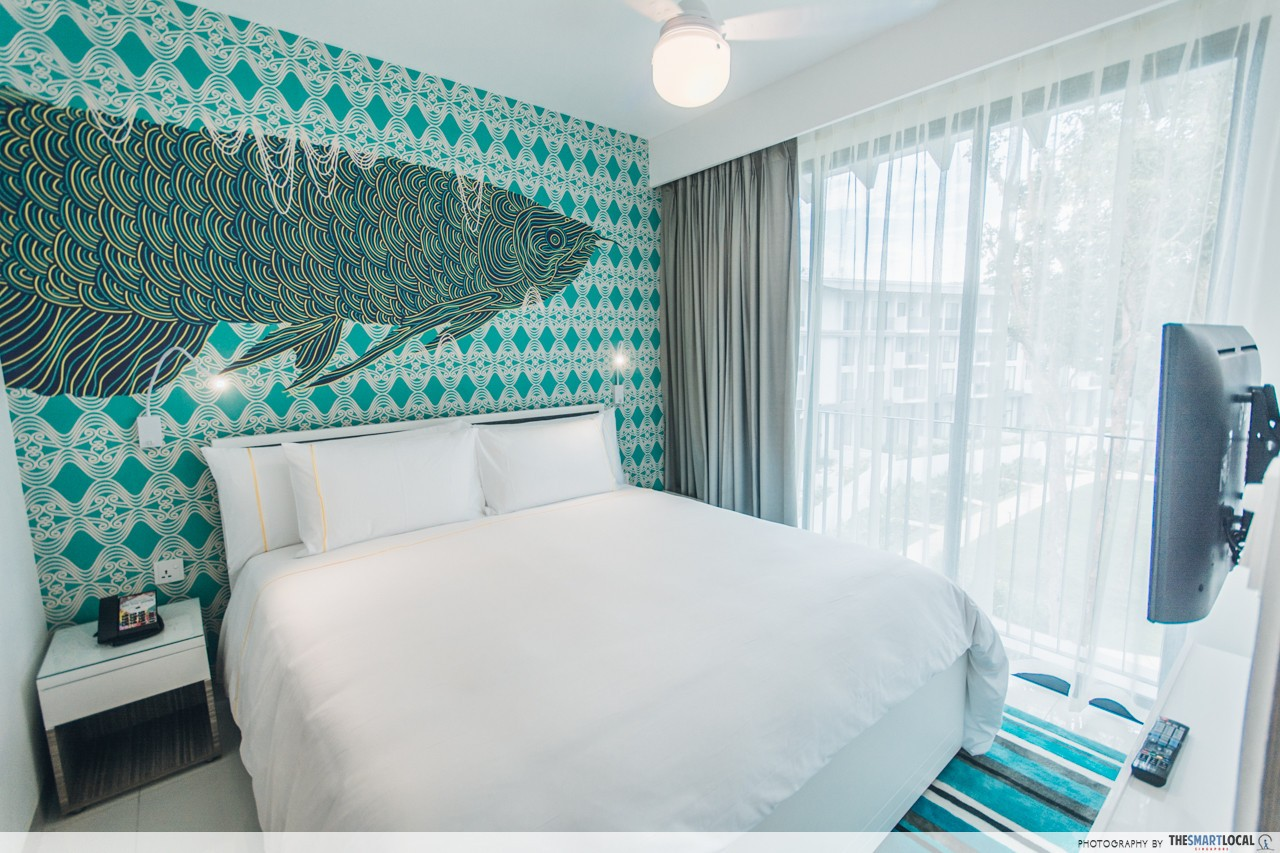Cassia Bintan Room Accommodation Bedroom Queen Size Bed