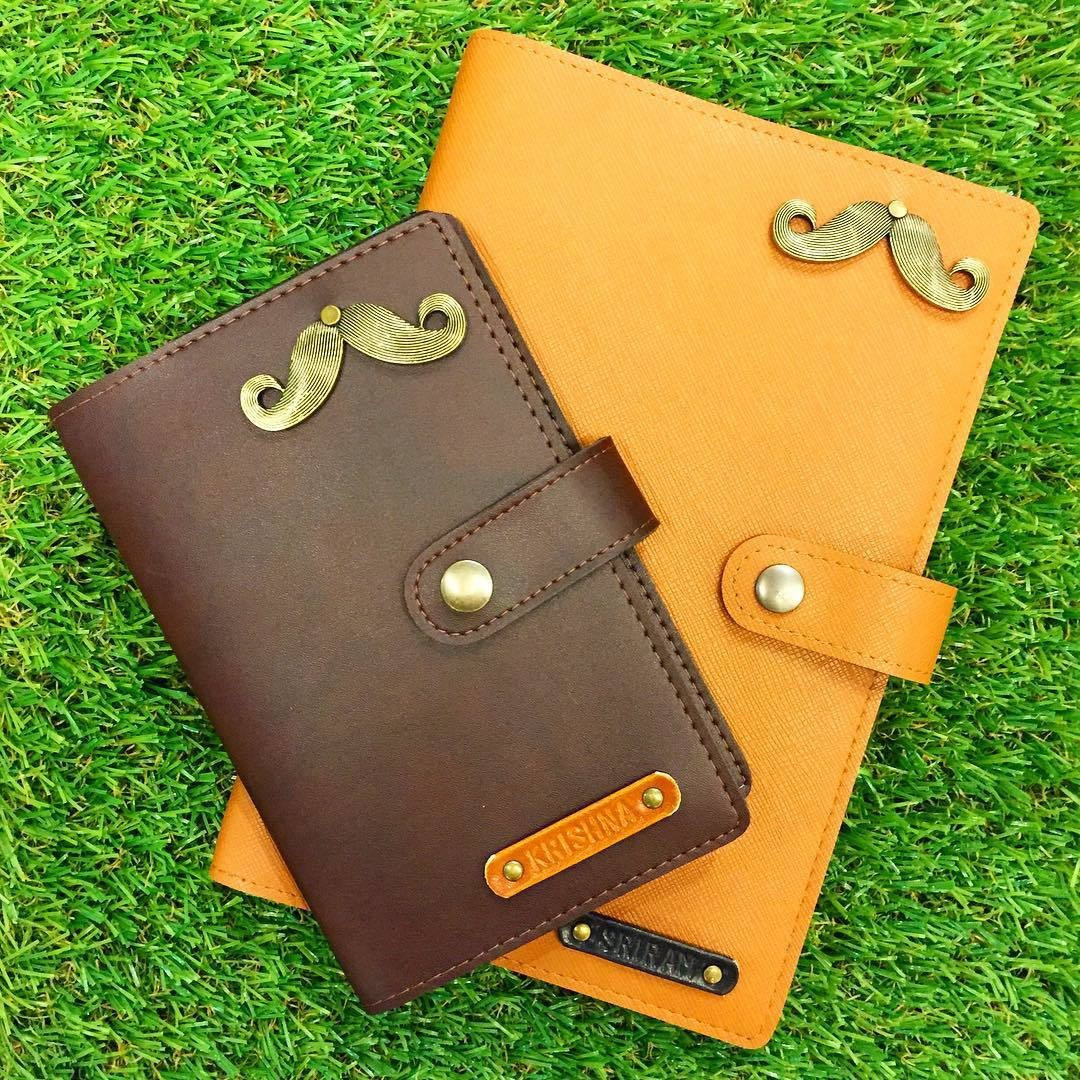 Knocks Singapore Personalised Leather Wallet