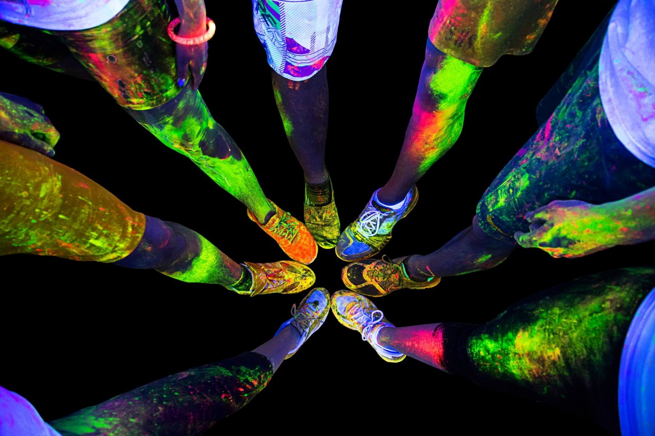 This September's Color Run Is Singapore's First Night Edition With UV Powder And A Foam Zone