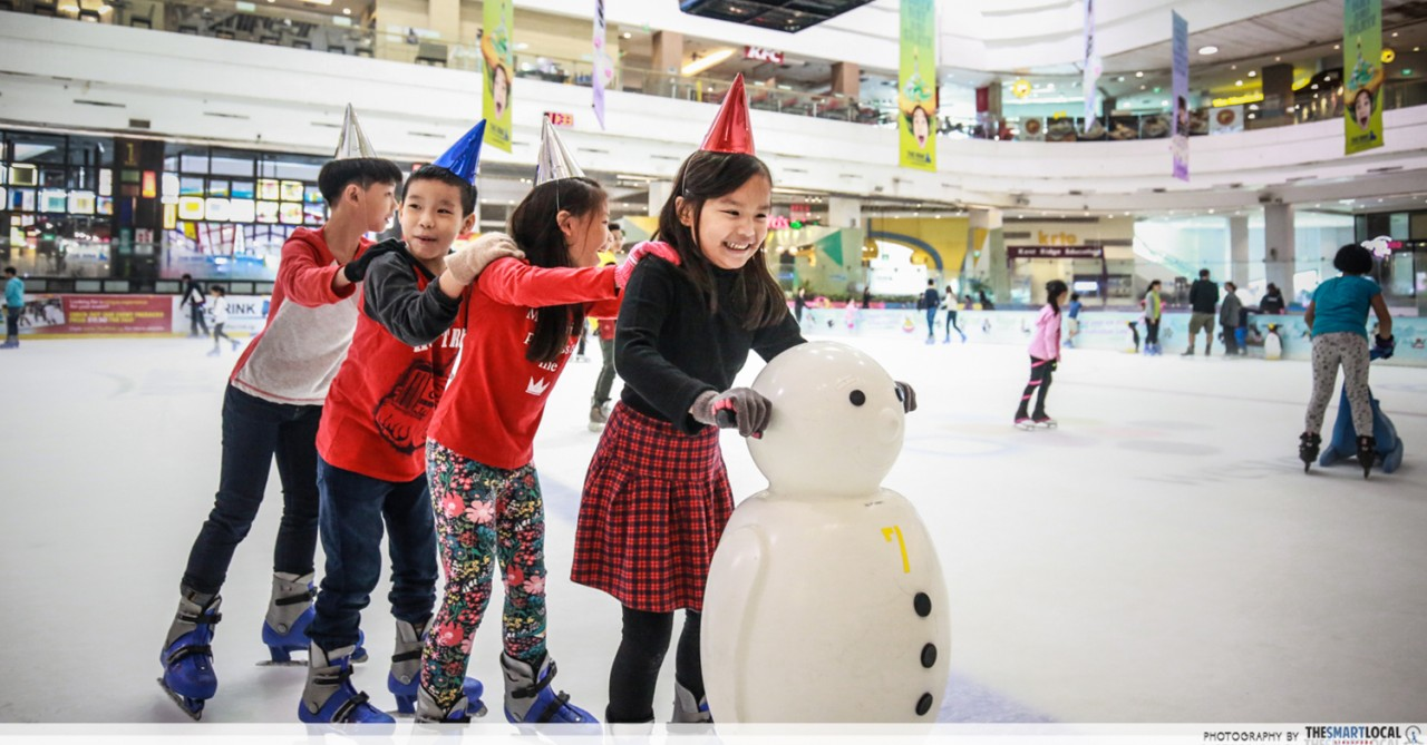 JCube's Olympic-Size Skating Rink Hosts Kids Birthday Parties From Just $350
