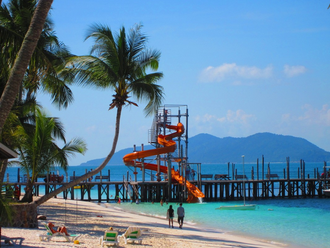 Waterfront - Rawa Island Resort Slide