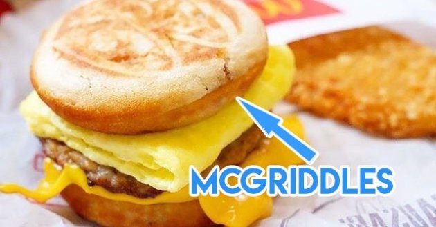 Mcgriddles Singapore
