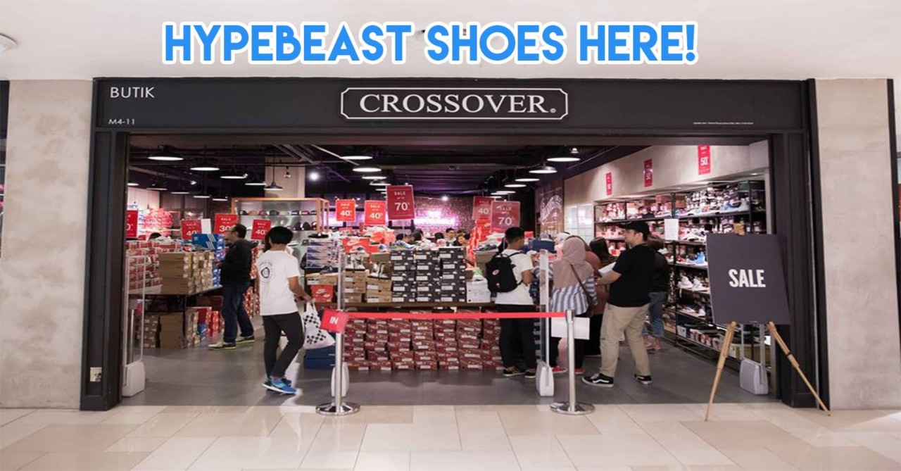 CROSSOVER jb malaysia cheap branded s hoes