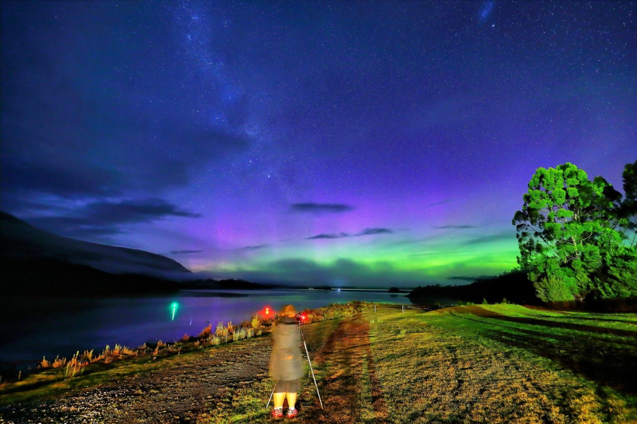 Catch the southern lights aurora australis viewing unique things to do in Tasmania hidden places in australia