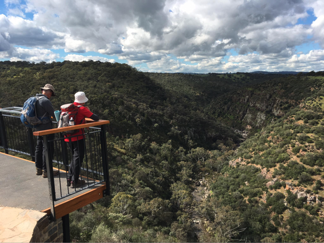 at the peak of onkaparinga river national park