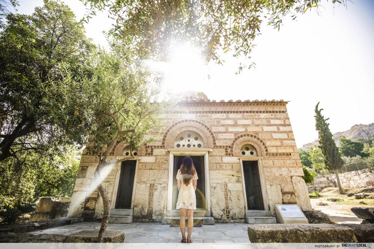 byzantine churches greece