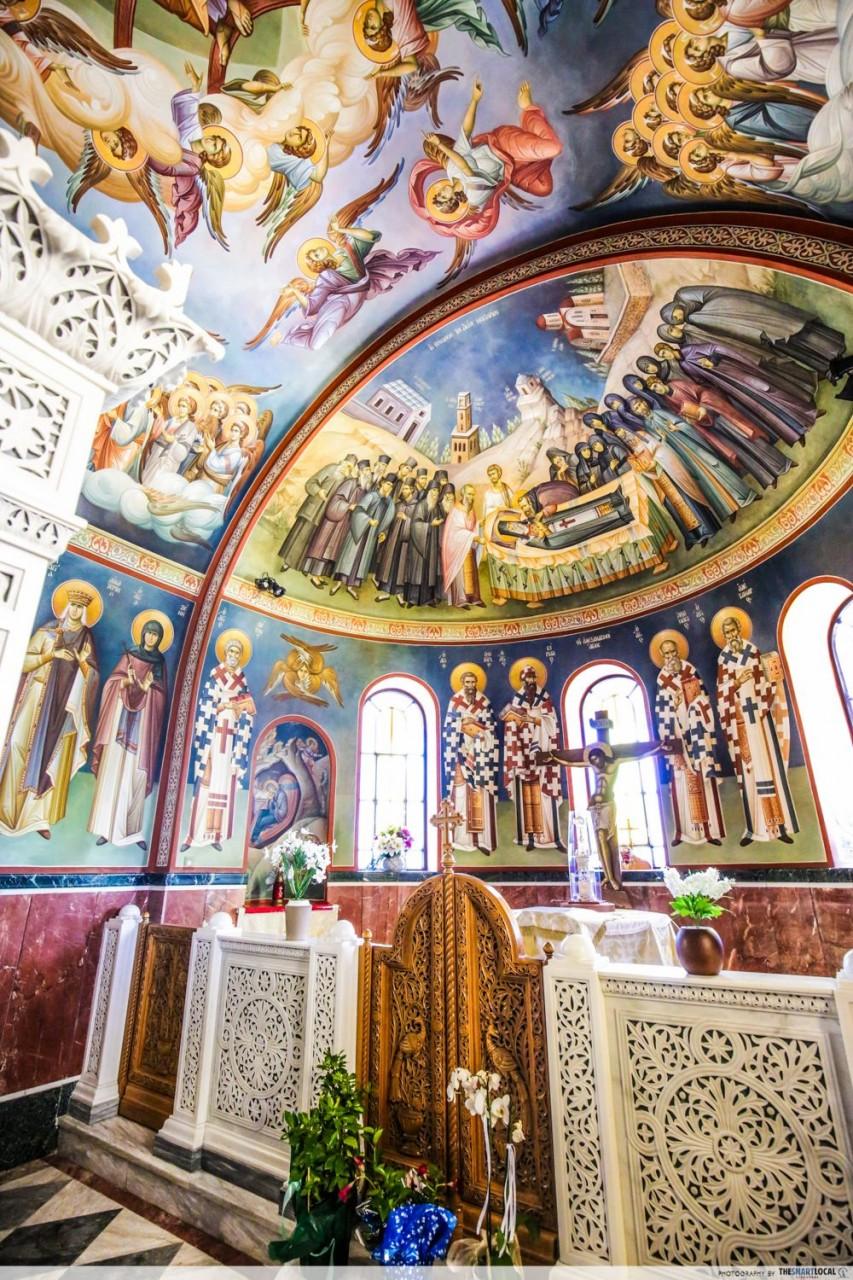 church of saint nectarios athens greece