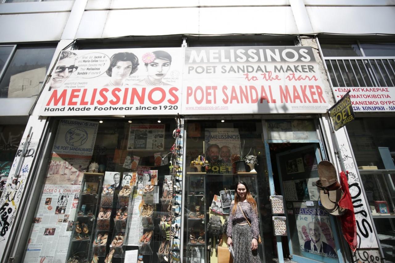 melissinos poet sandal maker greece