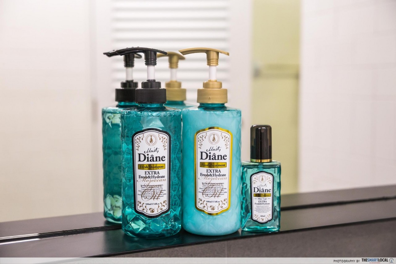 moist diane extra fresh scalp shampoo conditioner