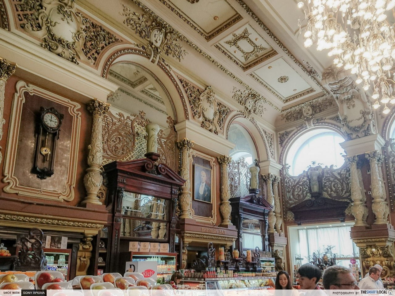Gastronomia Eliseevsky oldest grocery store in Moscow cheap and fun things to do in Moscow