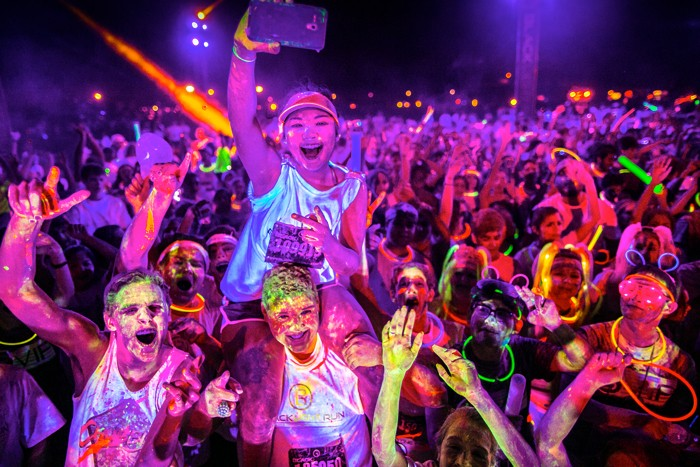 Things to do in Oct - Blacklight Run