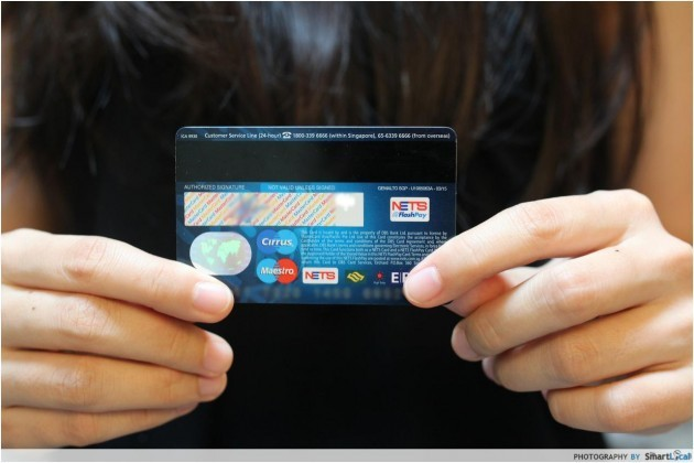 NETS flashpay MRT card