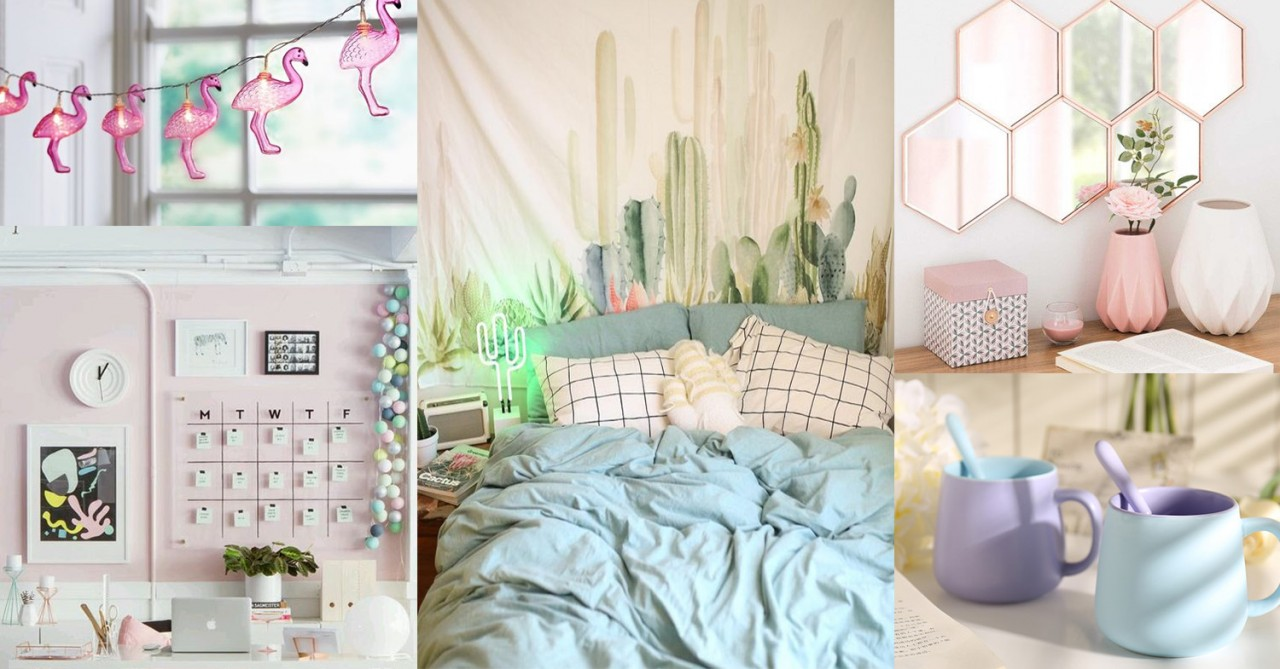 12 pastel bedroom essentials on taobao to nail that candy for Bedroom ideas aesthetic