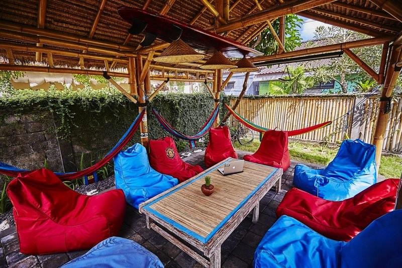 Bali Eco-Resorts - Riviera House Beanbag