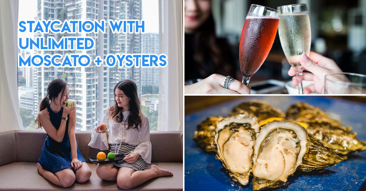Four Points Singapore Staycation - Get $60 Dining Credits For Free Flow Oysters + Moscato When You Book A Weekend Stay