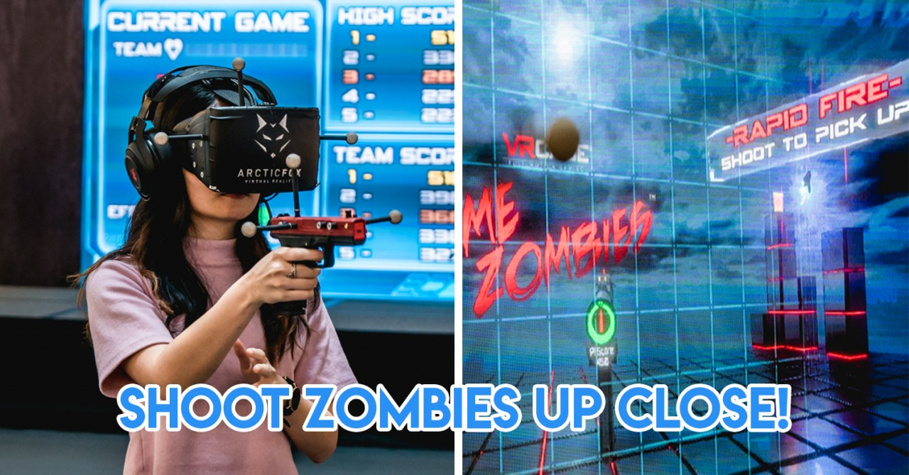 Bugis Junction X Bugis+ Now Have VR Zombie Games & You Can Win $1,000 CapitaVouchers While At It