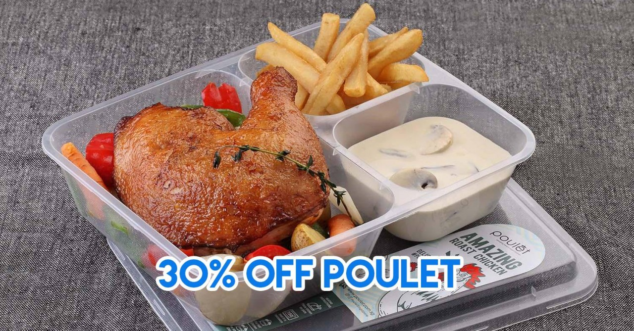 honestbee's Honestly Shiok! Promotion This October Has Up To 50% Discounts On Chicken Up, Poulet And Miam Miam Dishes
